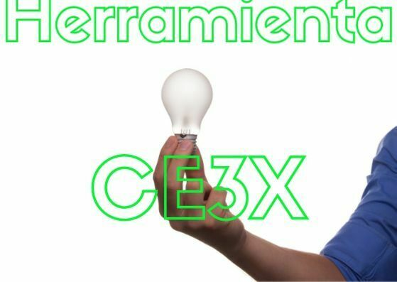 Programa de Certificación energética CE3X