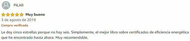 Opinión cinco estrellas ebook 1 vendido en Amazon