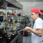 Metodo REBA cocinero