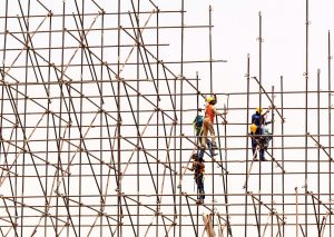 PRL Prevencion riesgos laborales ANDAMIO