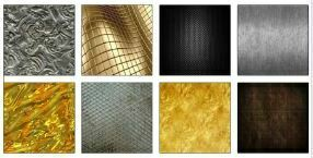 Textura Metal Decor