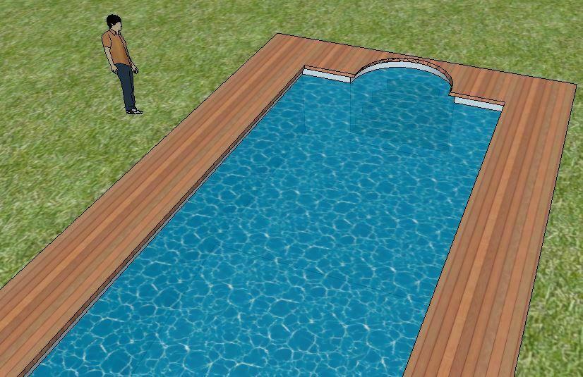 Sketchup pro piscina