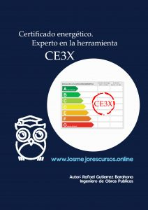 certificado eficiencia energetica experto en herramienta CE3X EBOOK