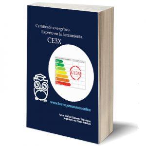certificado eficiencia energética experto en herramienta CE3X Ebook