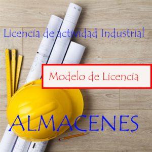 licencia de actividad industrial almacén