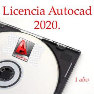 Licencia-autocad-Autodesk-2020-1-año