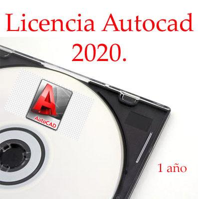 Licencia AUTOCAD 2020